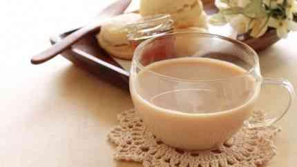 شاي الكرك بالزنجبيل