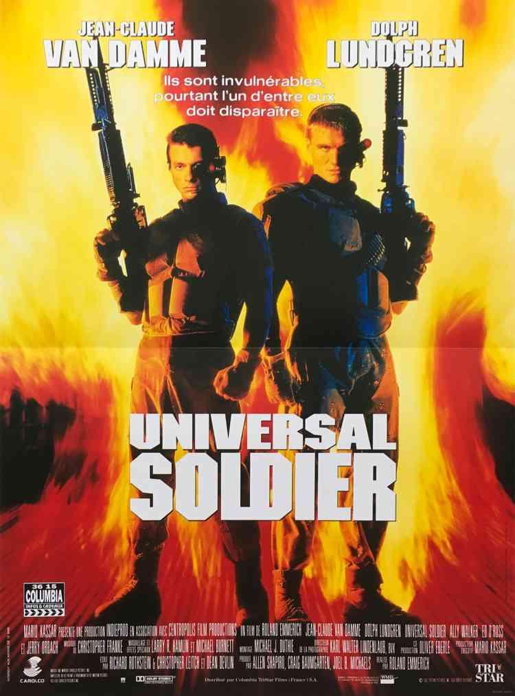 أفلام فاندام Universal Soldier