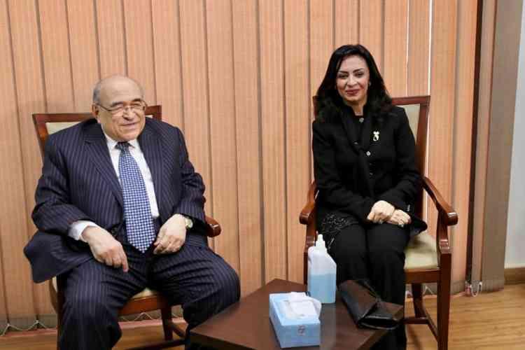 بروتوكول تعاون المجلس القومي للمرأة ومكتبة الإسكندرية