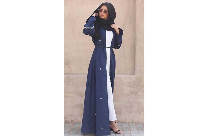 ملابس محجبات كاجوال العباءة المفتوحة