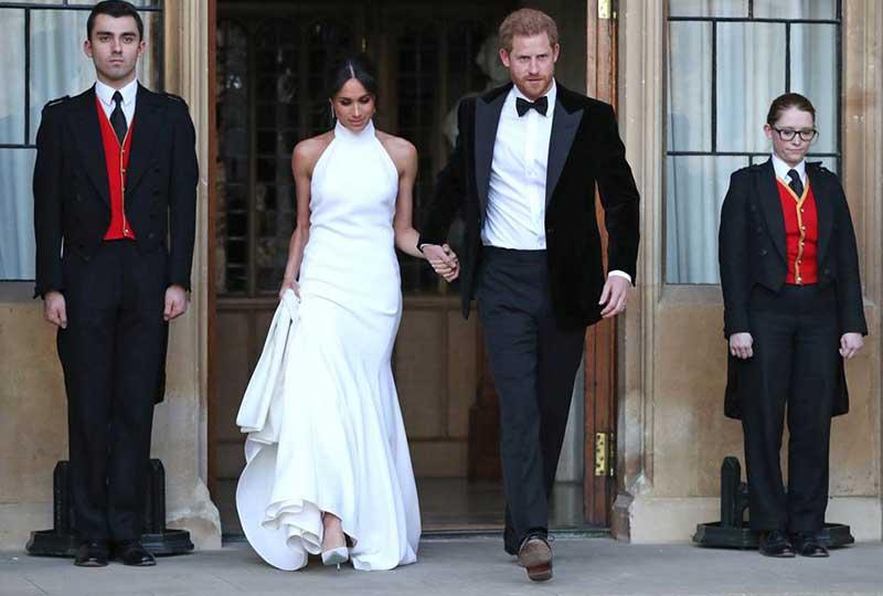طلة جديدة بفستان جديد تجمع هاري وميجان