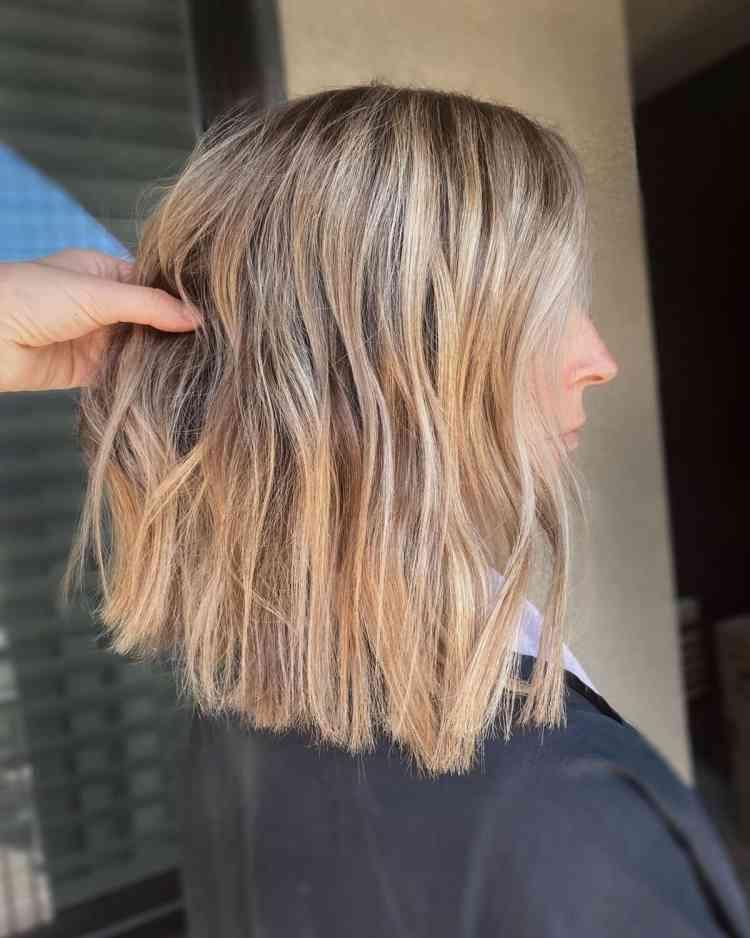 شعر متوسط الطول