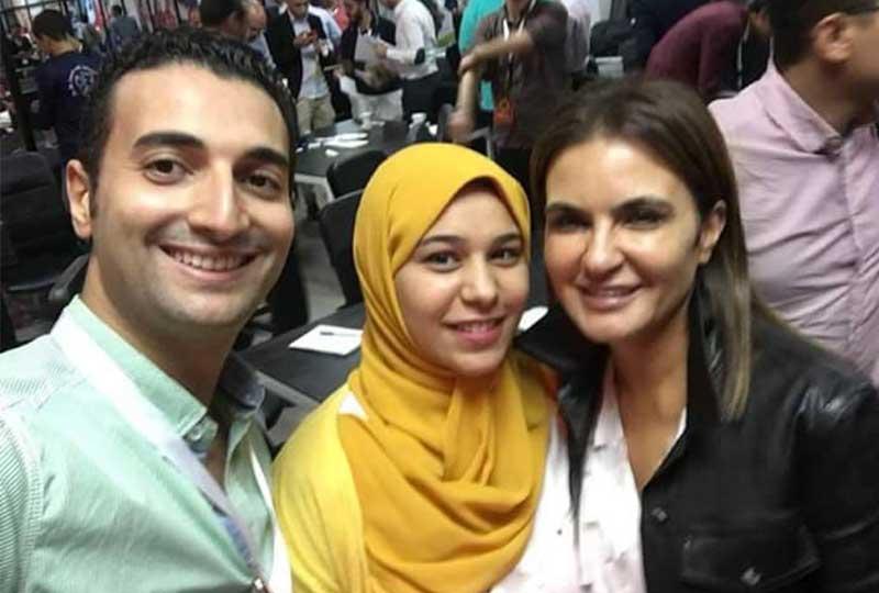 أمنية أبو القاسم مصري ماركت