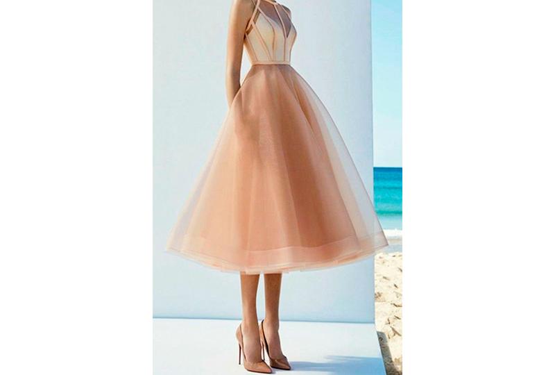 فستان خطوبة منفوش
