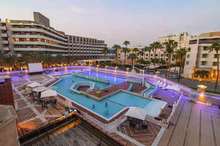 فنادق جدة على البحر فندق انتركونتيننتال الكورنيش