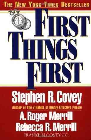 كتاب إدارة الاولويات- ستيفن كوفي