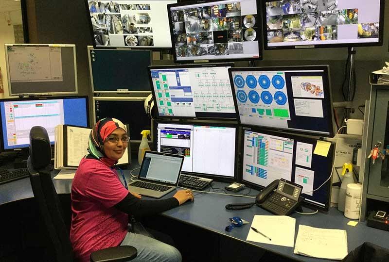 شيماء أبو زيد أول مصرية تعمل في سيرن