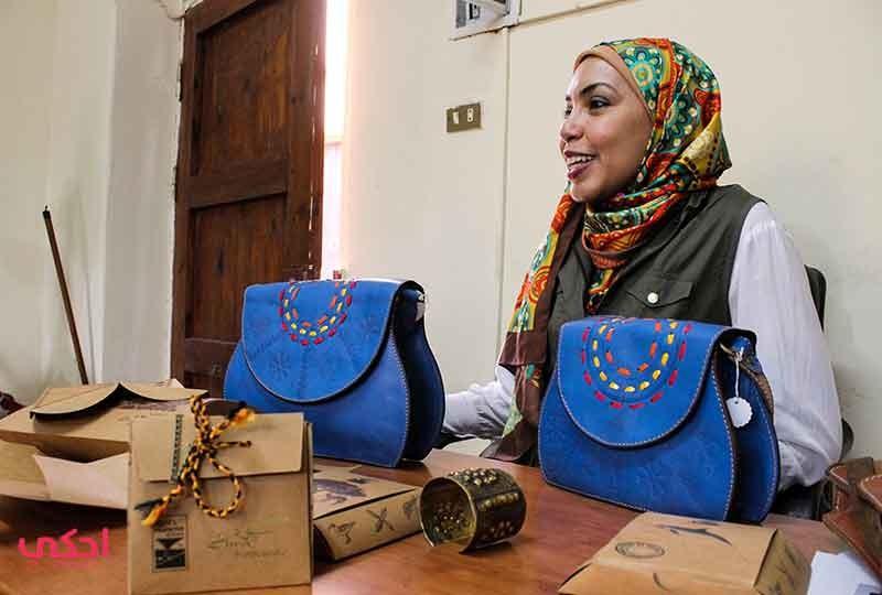رانيا هلال مصممة إكسسوارات