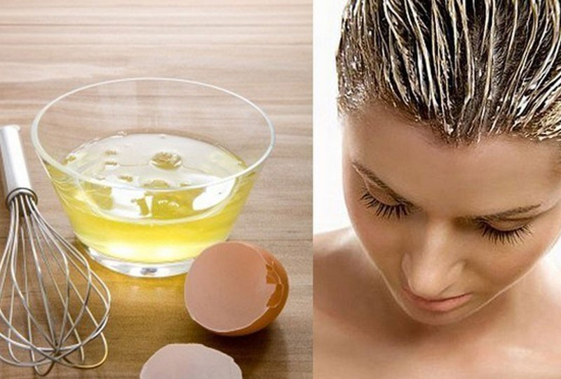 وصفات لتطويل الشعر سهلة بالبيض